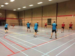 Competitie VVBBC Badminton Badmintonteam Halle 1986 Merchtem