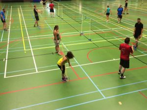 recreatief badminton Halle Badmintonteam Halle recreant recreanten start to badminton