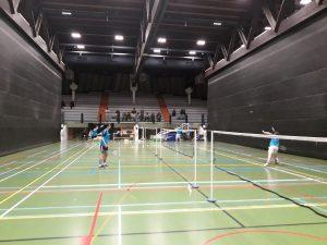 Badminton Badmintonteam Halle De Bres VVBBC winst zege Wolvertem