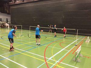 Badmintonteam Halle 2H De Bres Dilbeek VVBBC Vlaams-Brabant stad Halle