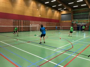 Badmintonteam Halle Hoeilaart Nero's VVBBC 4de Provinciale A