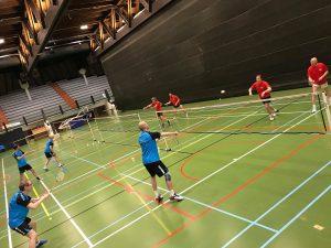 2H Badmintonteam Halle badminton De Bres gelijkspel VVBBC Drop Merchtem