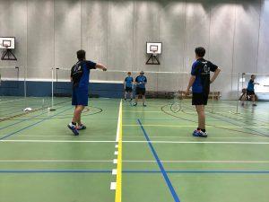 3H Badmintonteam Halle badminton stad Halle De Bres Londerzeel LoB winst 4de Provinciale A VVBBC