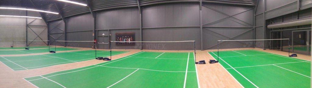 Yonex Center Aartselaar Badmintonteam Halle '86 badminton Halle