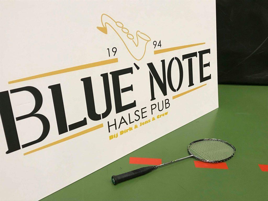 Blue Note Halle Badmintonteam Halle '86 badminton Halle Grote Markt De Bres Halle