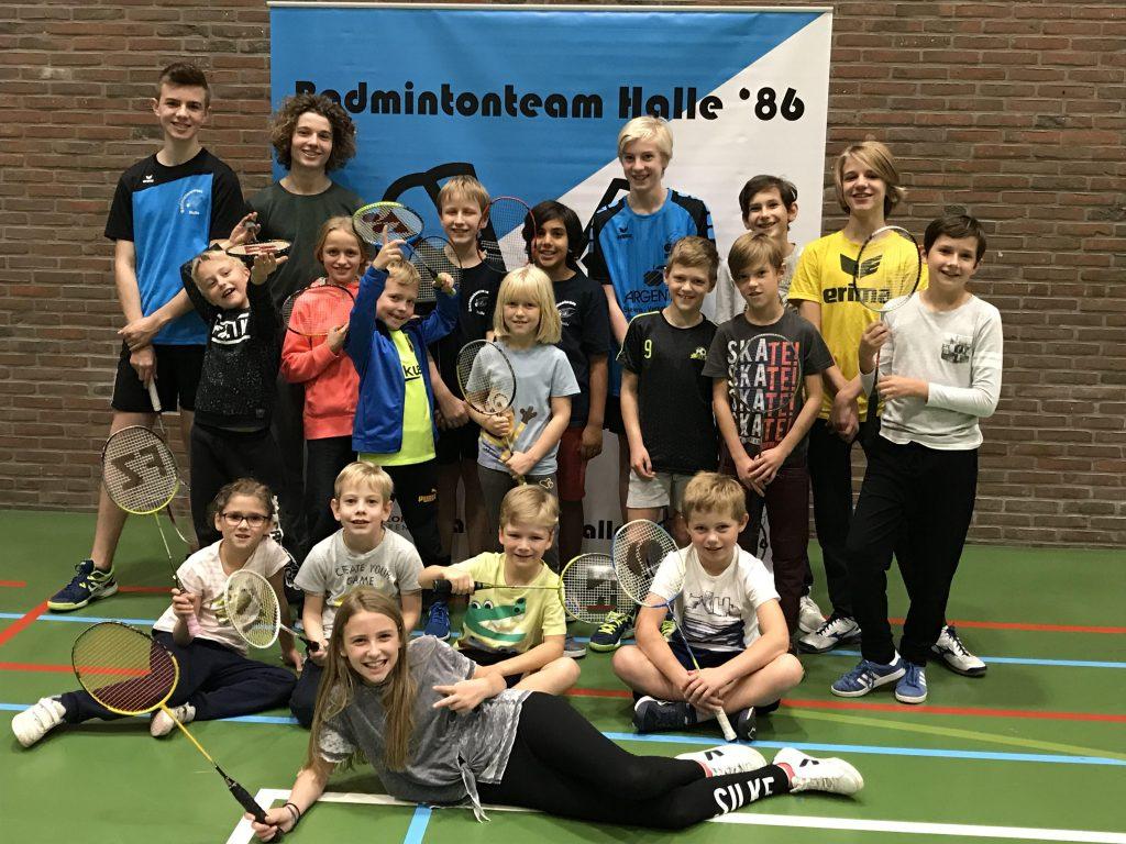 Herfststage Badminton Halle Sportkampen Badminton Vlaanderen De Bres Sportdienst Halle