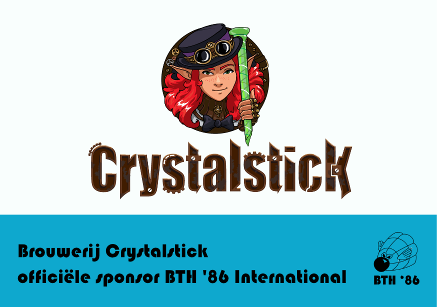 Crystalstick Blue Note Badmintonteam Halle '86 International toernooi badminton Halle De Bres