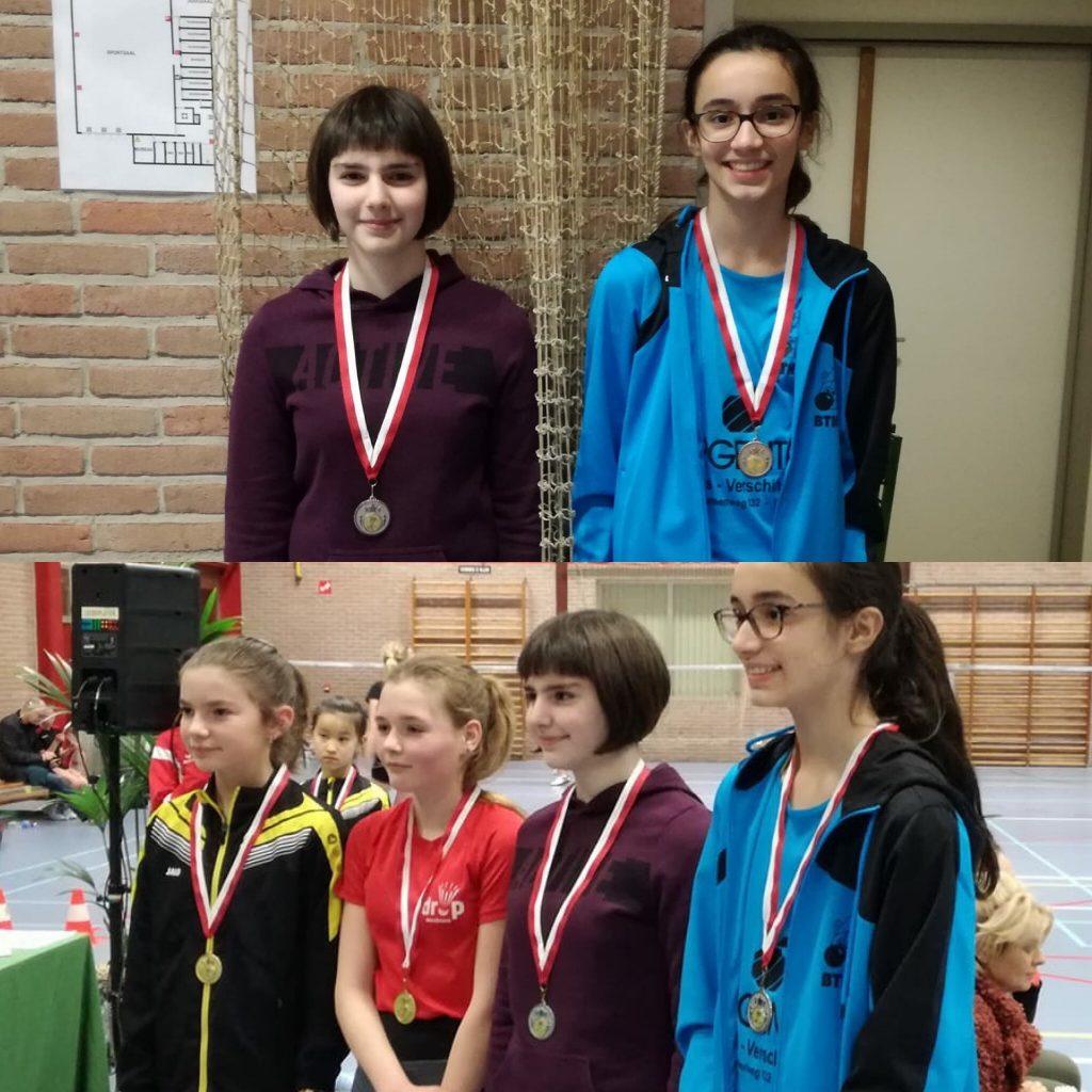 Jeugd Badmintonteam Halle badminton De Bres jeugdopleiding jeugdploeg BTH '86 Internationaal Jeugdtoernooi Merchtem
