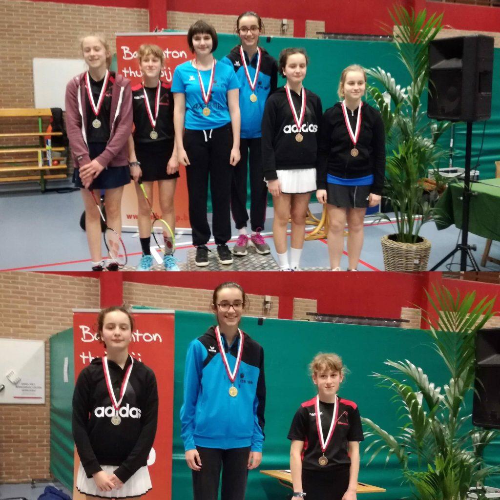 VVBBC Drop Merchtem Badminton Halle De Bres Badmintonteam Halle '86 jeugd