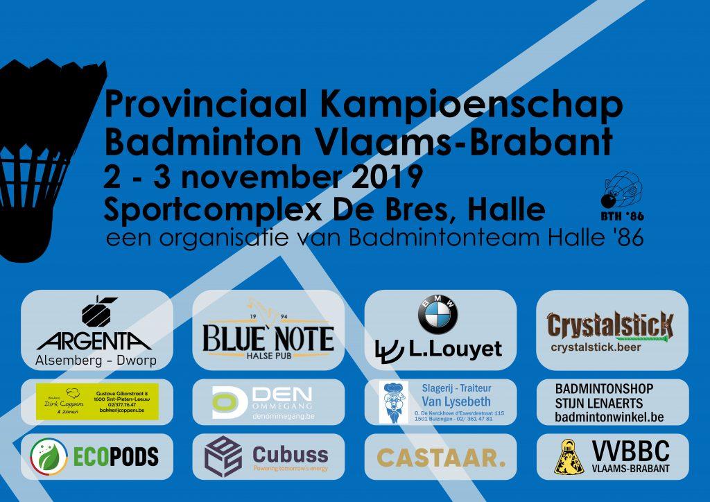 BMW L. Louyet Argenta Alsemberg Dworp Crystalstick Beer Blue Note Halle Badmintonteam Halle '86 VVBBC