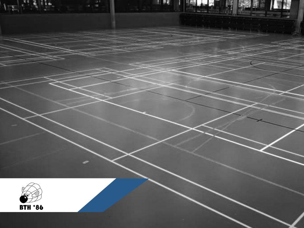 Sportcomplex De Bres Badmintonteam Halle '86 badminton badminton spelen in halle badmintonnen jeugd recreatief competitie